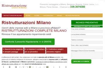 Ristrutturazioni Milano: sito di successo cinque