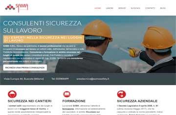 SAMA Srl consulenti sicurezza sul lavoro: sito di successo quattro